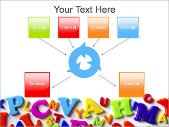 Colorful Letters PowerPoint Template - Slide 10