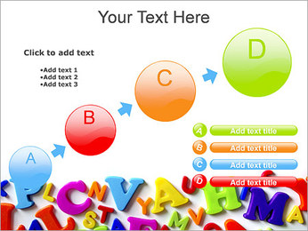 Colorful Letters PowerPoint Template - Slide 15