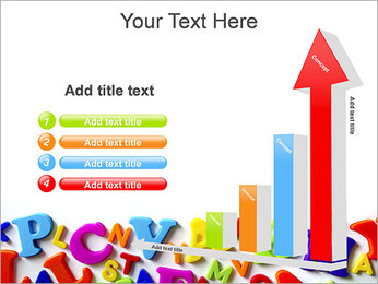 Colorful Letters PowerPoint Template - Slide 6