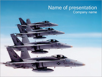 Air Forces PowerPoint Template