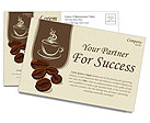 Coffee Postcard Template