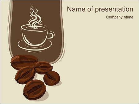 Coffee powerpoint template backgrounds google slides id coffee powerpoint template toneelgroepblik Gallery