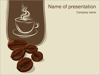 Coffee PowerPoint Template - Slide 1