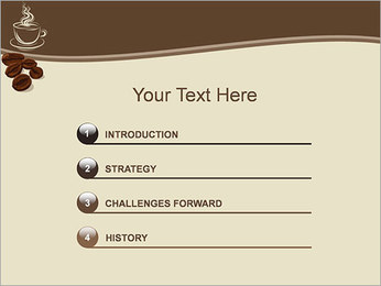 Coffee PowerPoint Template - Slide 3
