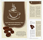 Coffee Word Template