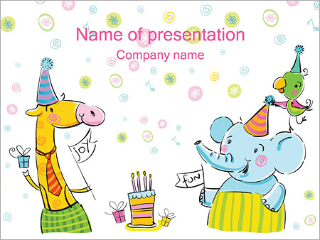 Birthday Powerpoint Template Backgrounds Google Slides Id