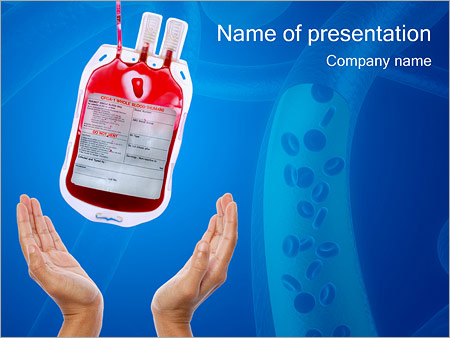 Exam powerpoint template smiletemplates donated blood powerpoint templates toneelgroepblik Image collections