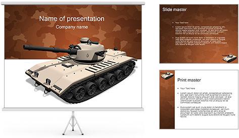 Tank PowerPoint Template