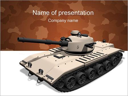 Tank PowerPoint Templates