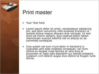 Tank PowerPoint Templates - Slide 24