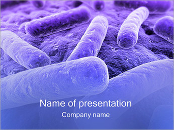 Bacteria PowerPoint Template - Slide 1
