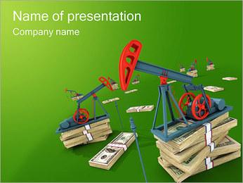 Olja PowerPoint presentationsmallar