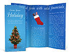 Christmas Holiday Brochure Templates