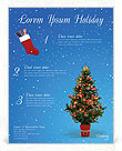 Christmas Holiday Flyer Templates