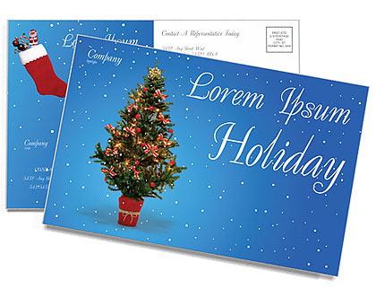 Do feriado do Natal Cartões postai