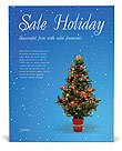 Christmas Holiday Poster Templates