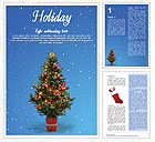 Christmas Holiday Word Template
