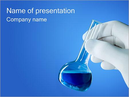 Tube à essai Modèles des présentations  PowerPoint