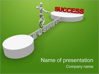 Sucesso Negócios Way Modelos de apresentações PowerPoint