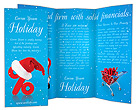 Christmas Discounts Brochure Template
