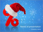 Christmas Discounts PowerPoint Templates