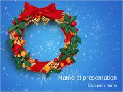 Christmas Wreath PowerPoint Templates