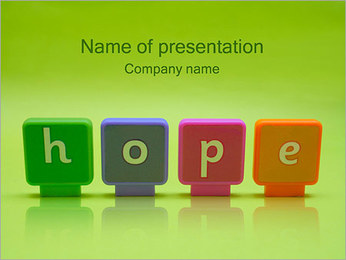 Hope PowerPoint Template