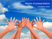 Hands Up PowerPoint Templates