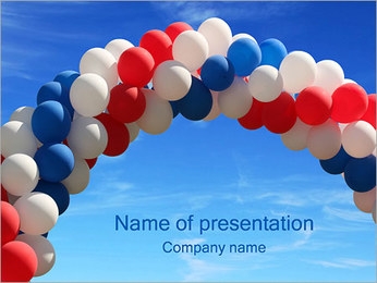 Opening PowerPoint Template
