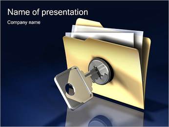 Data Protection PowerPoint Template