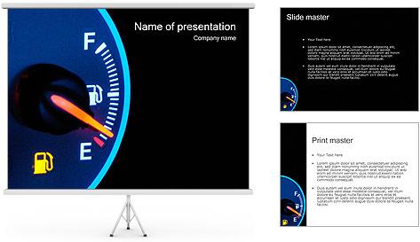 Carburant Modèles des présentations  PowerPoint