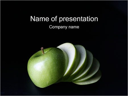 Apple PowerPoint Template Backgrounds Google Slides