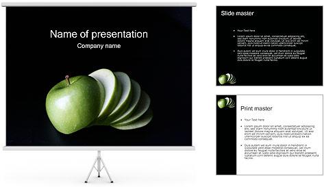 Pomme Modèles des présentations  PowerPoint