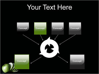 Pomme Modèles des présentations  PowerPoint - Diapositives 10