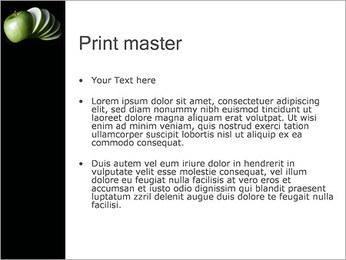 Pomme Modèles des présentations  PowerPoint - Diapositives 24