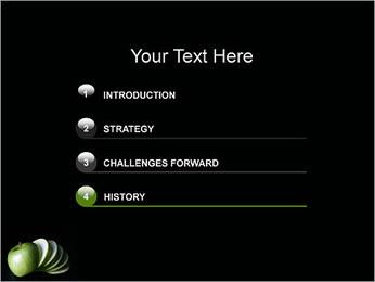 Pomme Modèles des présentations  PowerPoint - Diapositives 3