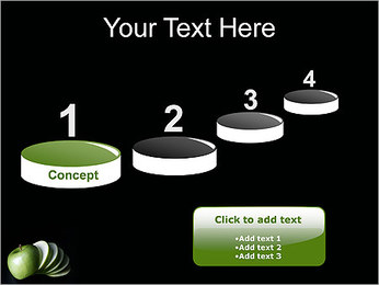 Pomme Modèles des présentations  PowerPoint - Diapositives 7