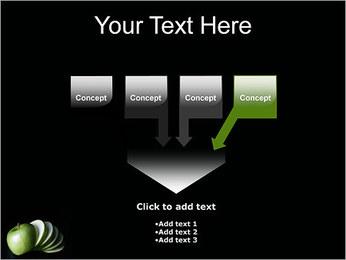 Pomme Modèles des présentations  PowerPoint - Diapositives 8