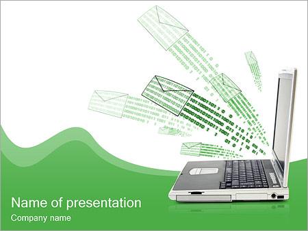 Sending e-mails PowerPoint Template