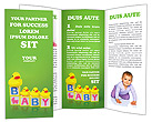 Baby Games Brochure Template
