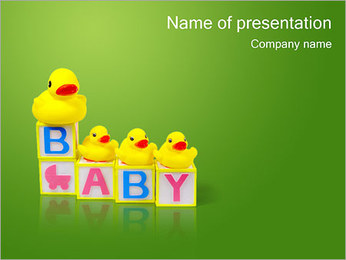 Baby Games PowerPoint Template