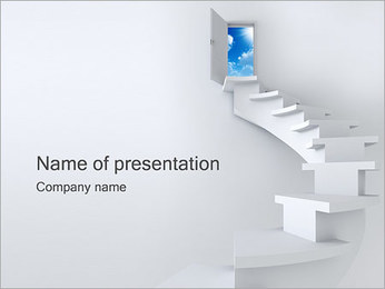 Way to Success PowerPoint Template