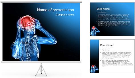 Headache PowerPoint Template & Backgrounds ID 0000000794 ...