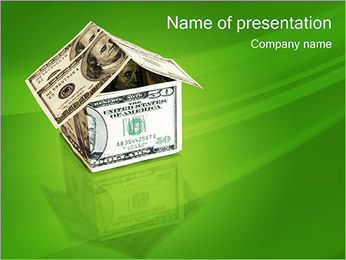 Money House PowerPoint Template