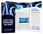 Night Traffic Brochure Templates