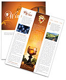 Wine Newsletter Template