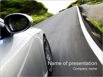 Automobile Modèles des présentations  PowerPoint - Diapositives 1