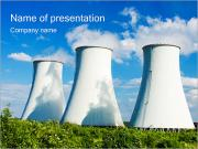 Power Plant Sjablonen PowerPoint presentaties