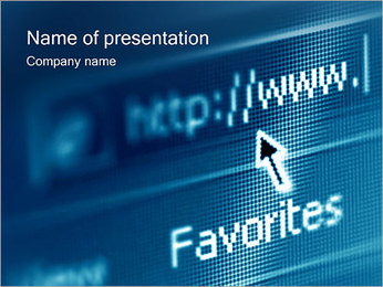 Favorites Links PowerPoint Template
