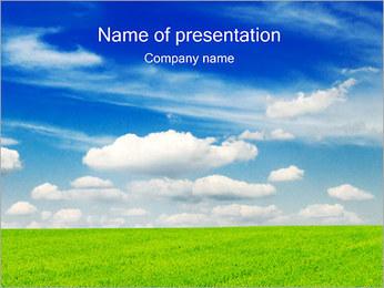 Green Field PowerPoint Template